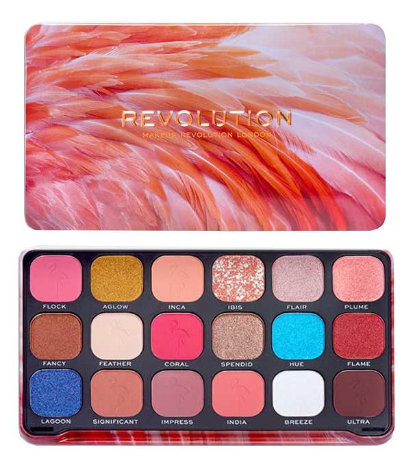 Купить Палетка теней для век Forever Flawless 19, 8г: Flamingo, Makeup Revolution