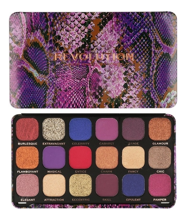 Купить Палетка теней для век Forever Flawless 19, 8г: Show Stopper, Makeup Revolution