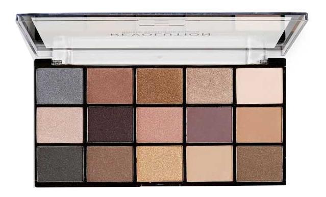 Купить Палетка теней для век Reloaded Palette: Iconic 1.0, Makeup Revolution