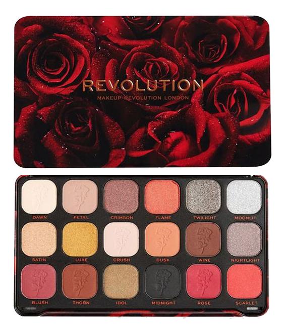 Купить Палетка теней для век Forever Flawless 19, 8г: Midnight Rose, Makeup Revolution
