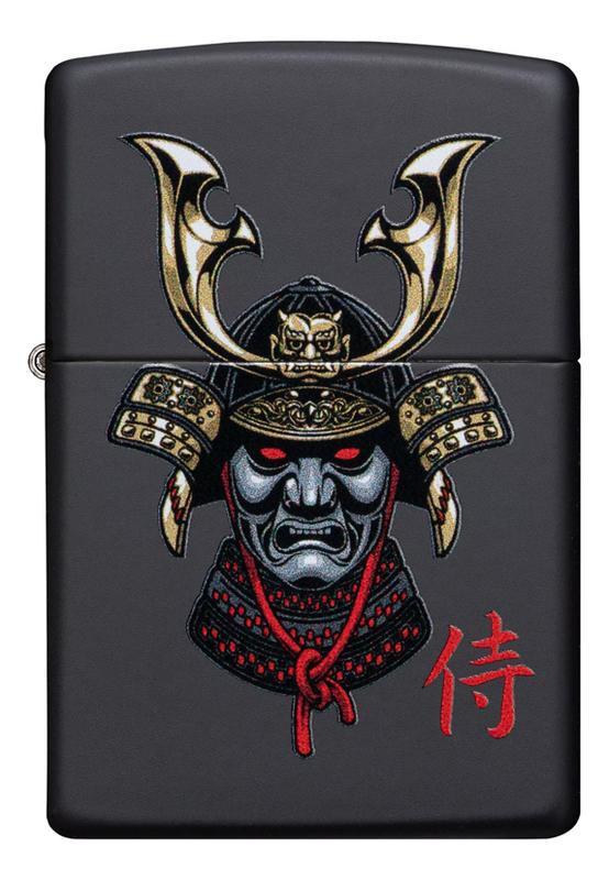 Зажигалка бензиновая Samurai Helmet Design 49259