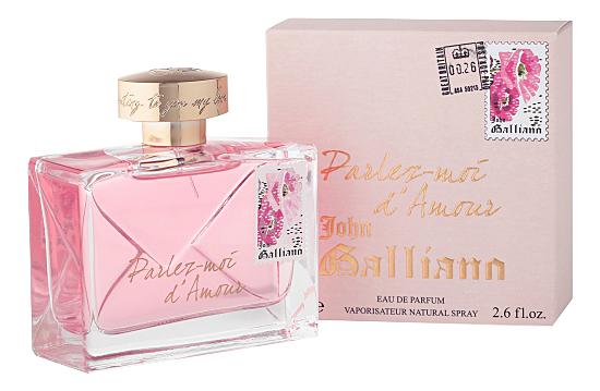 цена на John Galliano Parlez-moi d'Amour: парфюмерная вода 80мл