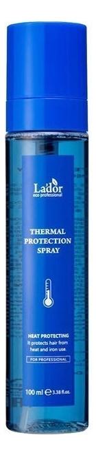 Термозащитный спрей для волос с аминокислотами Thermal Protection Spray 100мл термозащитный разглаживающий спрей для волос thermal protection smooth spray спрей 100мл
