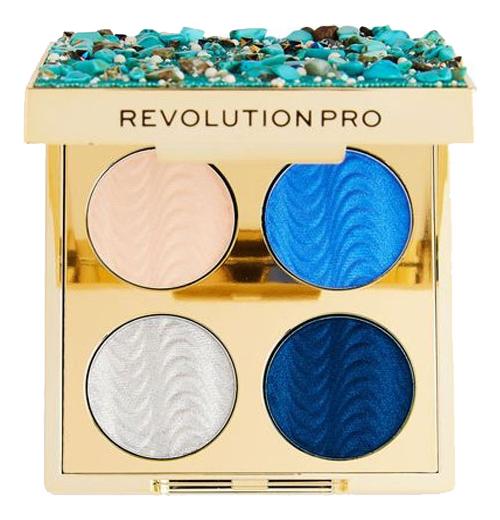 Купить Палетка теней для век Ultimate Eye Look Palette 3, 2г: Ocean Treasure, Revolution PRO
