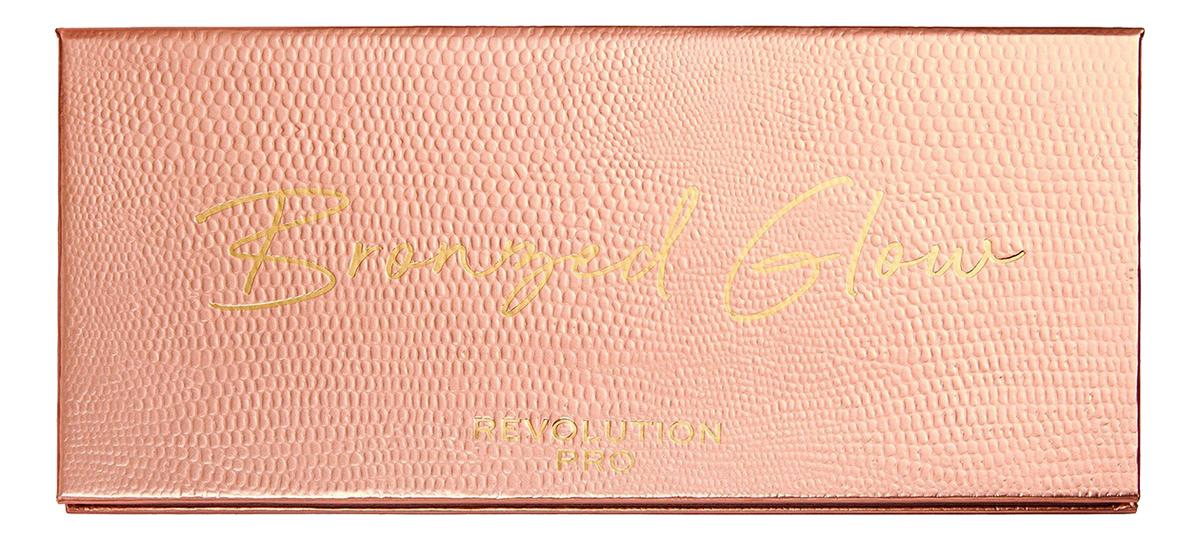 Купить Палетка теней для век Colour Focus Bronzed Glow 15г, Revolution PRO