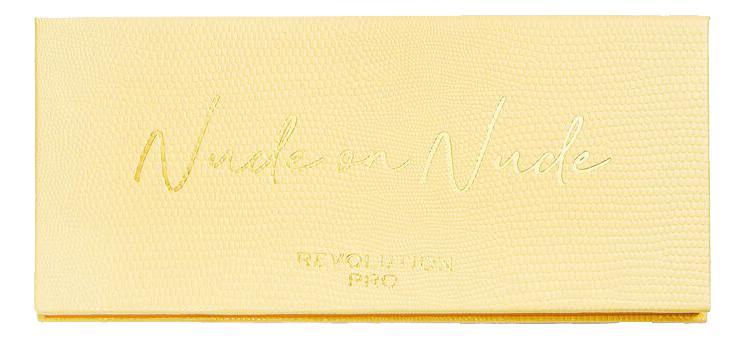Купить Палетка теней для век Colour Focus Nude on Nude 15г, Revolution PRO