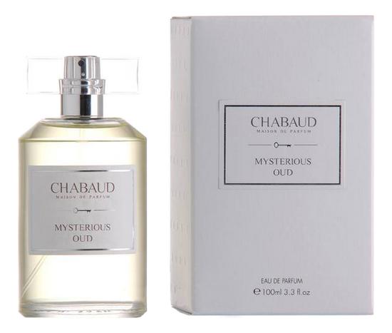 Chabaud Maison de Parfum Mysterious Oud : парфюмерная вода 100мл chabaud maison de parfum nectar de fleurs парфюмерная вода 100мл