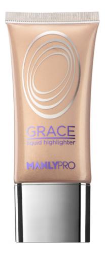 Купить Жидкий гелевый хайлайтер для лица Grace Liquid Highlighter 35мл: GH1, Manly PRO