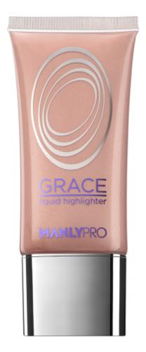 Купить Жидкий гелевый хайлайтер для лица Grace Liquid Highlighter 35мл: GH2, Manly PRO