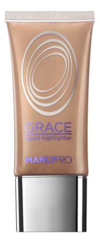 Купить Жидкий гелевый хайлайтер для лица Grace Liquid Highlighter 35мл: GH3, Manly PRO