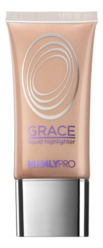 Купить Жидкий гелевый хайлайтер для лица Grace Liquid Highlighter 35мл: GH4, Manly PRO