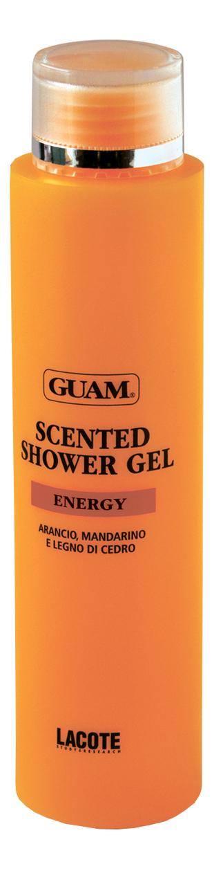 Купить Гель для душа ароматический Энергия м тонус Energy Scented Shower Gel 200мл, GUAM