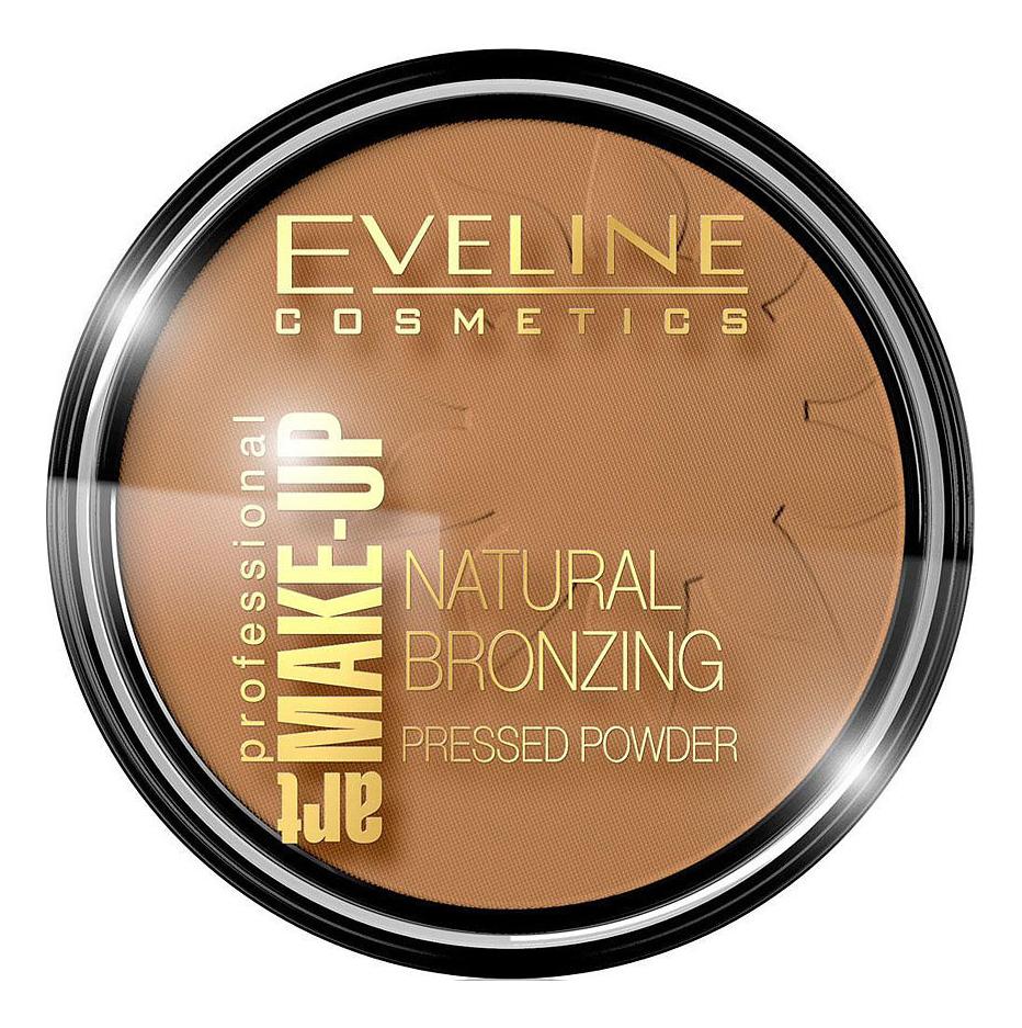 Бронзирующая пудра для лица Art Professional Make-Up Natural Bronzing Pressed Powder 14г: No 52