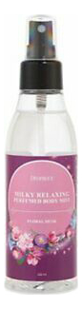 Купить Спрей для тела парфюмерный Milky Relaxing Perfumed Body Mist Floral Musk 150мл, Deoproce