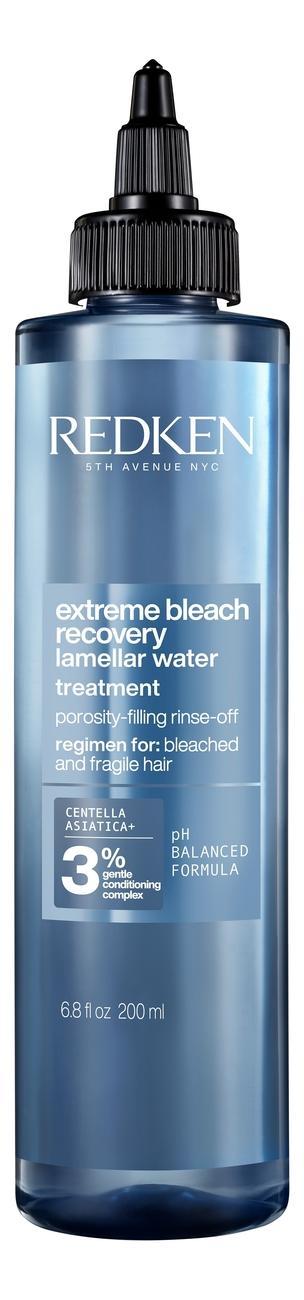 Купить Ламеллярная вода для волос с экстрактом азиатской центеллы Extreme Bleach Recovery Lamellar 200мл, Redken