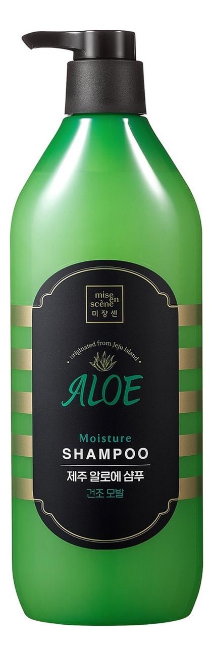 Увлажняющий шампунь для волос с алоэ Jeju Aloe Moisture 780мл
