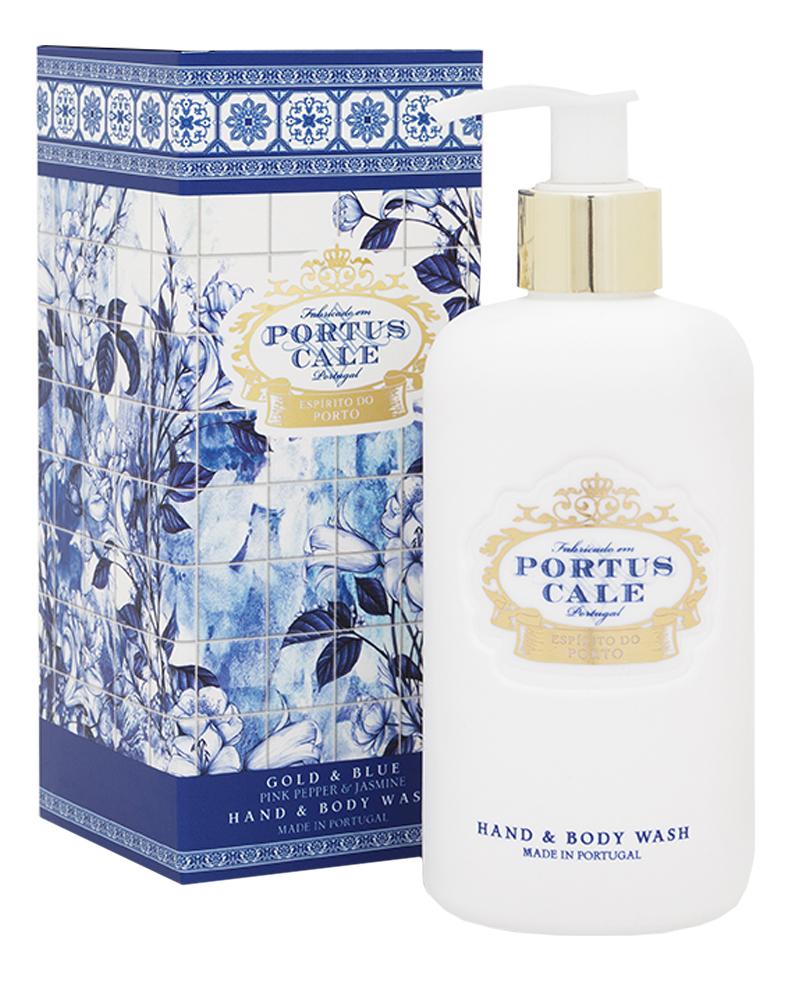 Купить Portus Cale Gold & Blue: гель для душа 300мл, Portus Cale Gold & Blue, Castelbel Porto