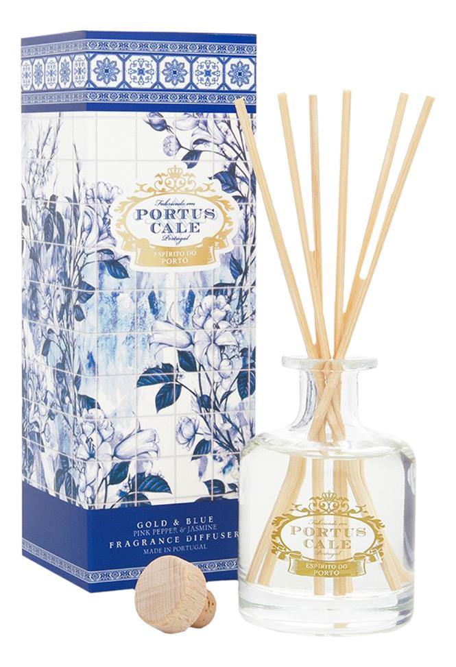 Купить Portus Cale Gold & Blue: аромадиффузор 100мл, Portus Cale Gold & Blue, Castelbel Porto