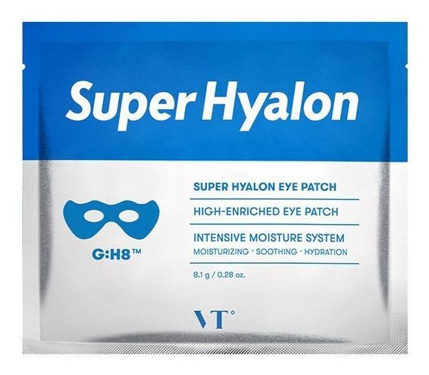 Купить Гидрогелевые патчи под глаза Super Hyalon Eye Patch: Патчи 1шт, VT Cosmetics