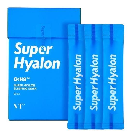 Интенсивно увлажняющая ночная маска для лица с гиалуроновой кислотой Super Hyalon Sleeping Mask: Маска 20*4мл недорого