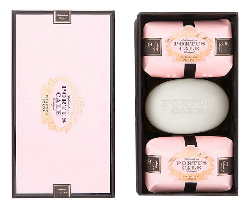 Купить Portus Cale Rose Blush: мыло 3*150г, Castelbel Porto