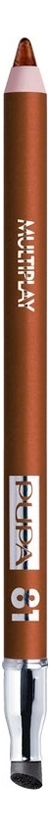 Карандаш для век с аппликатором Multiplay Eye Pencil 1,2г: No 81 карандаш для век с аппликатором multiplay eye pencil 1 2г 14 water green