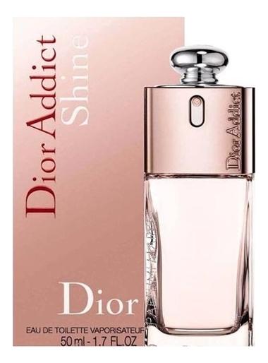 Christian Dior Addict Shine: туалетная вода 50мл christian dior dior addict парфюмерная вода женская 50мл