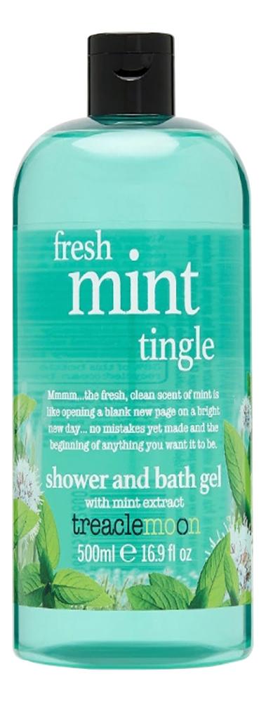 Гель для душа Свежая мята Fresh Mint Tingle Bath & Shower Gel: Гель 500мл tropiclean fresh breath gel vanilla mint гель для собак для чистки зубов ваниль и мята 59 мл
