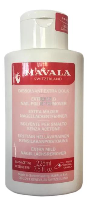 Жидкость для снятия лака Extra Mild Nail Polish Remover: Жидкость 225мл