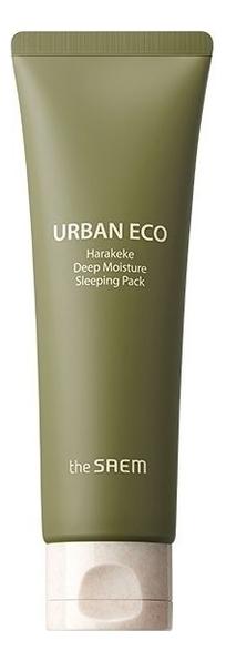 Ночная маска для лица Urban Eco Harakeke Deep Moisture Sleeping Pack 80мл the saem набор для лица urban eco harakeke