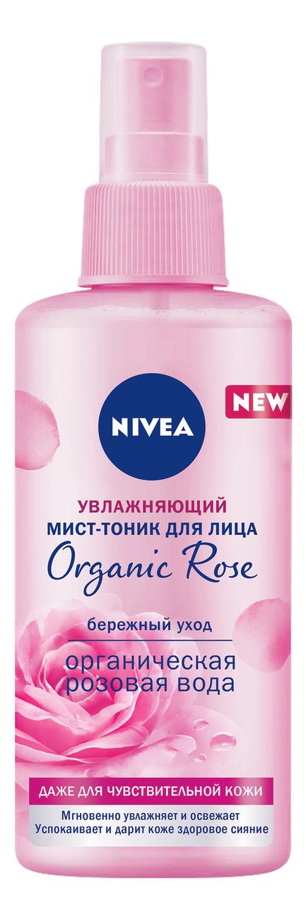 Купить Увлажняющий мист-тоник для лица Organic Rose 150мл, NIVEA