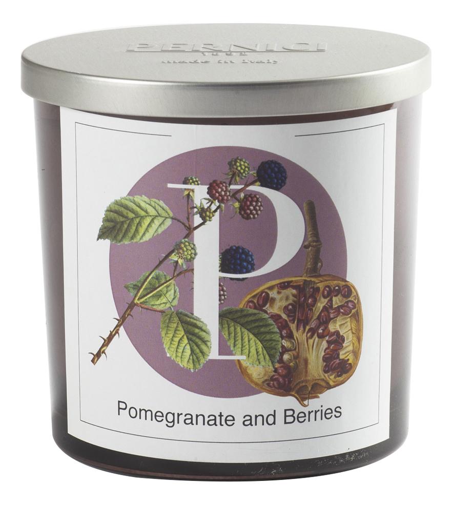 Купить Ароматическая свеча Гранат и Красные ягоды: свеча 350г, Pernici