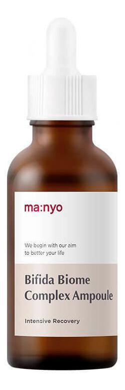 Купить Антивозрастная эссенция для лица с пробиотиками и пептидами Bifida Biome Complex Ampoule: Эссенция 50мл, Manyo Factory