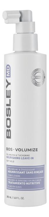 Несмываемое средство для объема и густоты волос BOSRevive Volumize Nourishing Leave-In 200мл