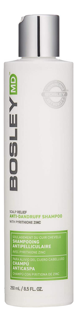 Купить Шампунь против перхоти Scalp Relief Anti Dandruff Shampoo: Шампунь 250мл, Bosley