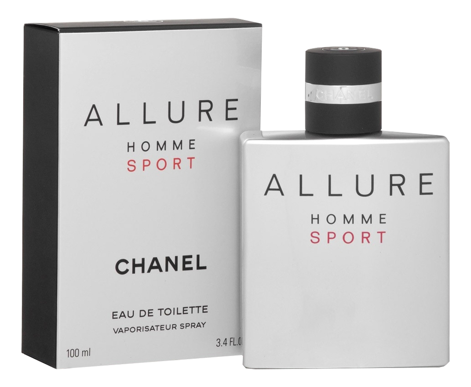Chanel Allure Homme Sport: туалетная вода 100мл chanel allure духи 7 5мл