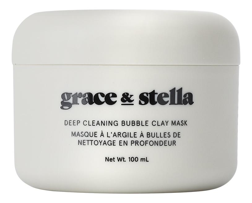 Очищающая пузырьковая маска для лица с глиной Deep Cleaning Bubble Clay Mask 100мл