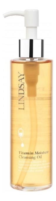 Гидрофильное масло для снятия макияжа с витаминами Vitamin Moisture Cleansing Oil 200мл недорого