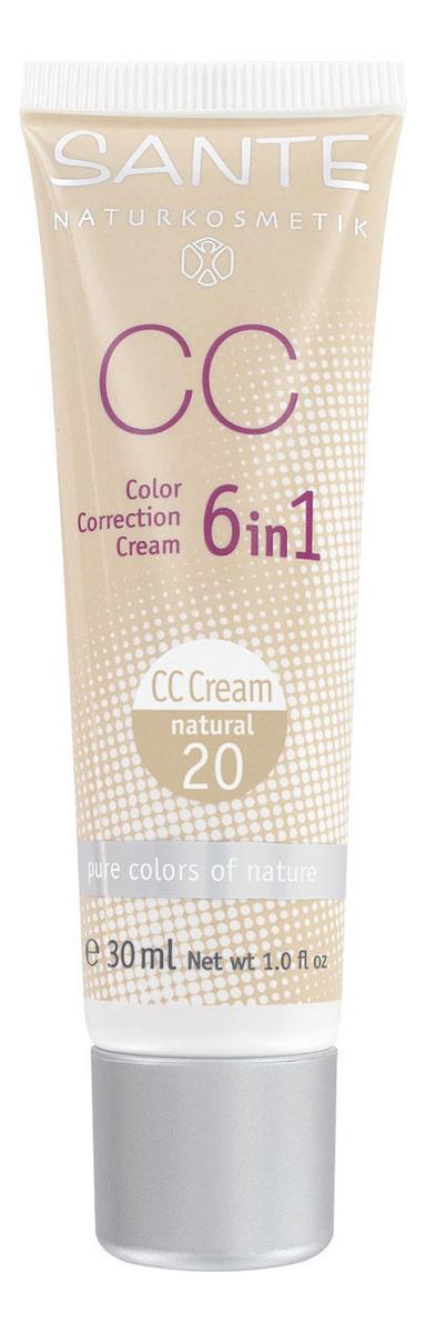 CC крем для лица Color Correction Cream 6 in 1 30мл: 20 Natural