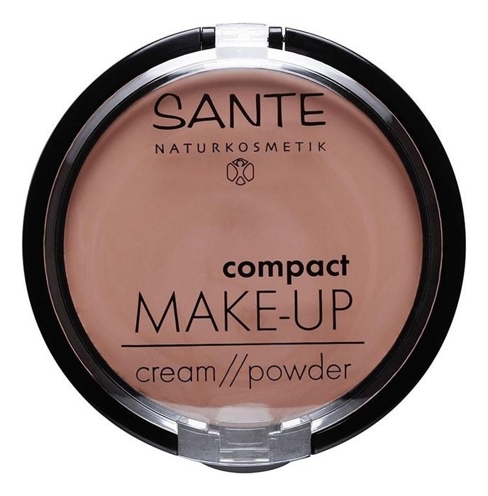 Фото - Компактная крем-пудра для лица Compact Make Up Cream Powder 9г: No 03 минеральная компактная пудра mineral compact powder 9г no 07