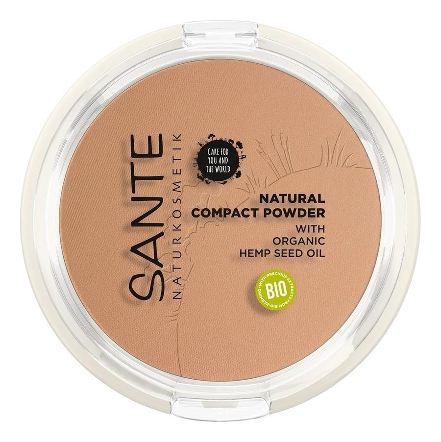 Фото - Натуральная компактная пудра для лица Natural Compact Powder 9г: No 03 минеральная компактная пудра mineral compact powder 9г no 07
