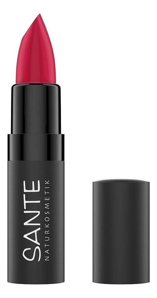 Матовая помада для губ Lipstick Mat Matt Matte 4,5г: 05 Velvet Pink