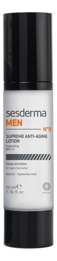 Купить Антивозрастной лосьон для лица Men Supreme Anti-Aging Lotion 50мл, Sesderma