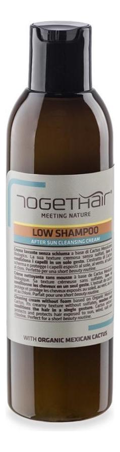 Купить Безсульфатный крем-шампунь для волос после пребывания на солнце Low Shampoo After Sun Cleansing Cream 200мл, TOGETHAIR