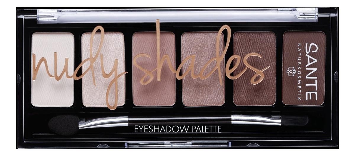 Палетка теней для век Eyeshadow Palette 6г: Nudy Shadow
