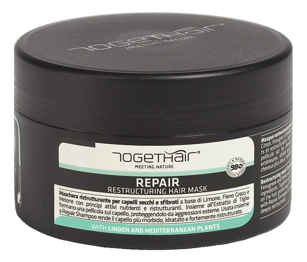 Восстанавливающая маска для ломких и поврежденных волос Repair Restructuring Hair Mask 250мл недорого