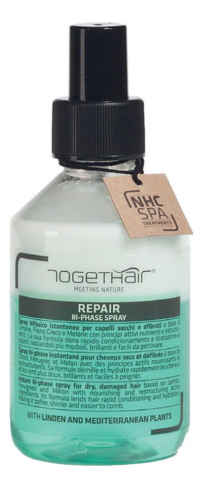 Двухфазный спрей для ломких и поврежденных волос Repair Bi Phase Spray 200мл недорого