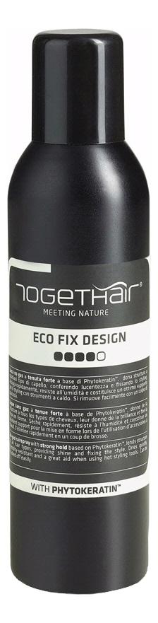 Купить Лак-спрей без газа сильной фиксации для укладки волос Eco Fix Design 250мл, TOGETHAIR