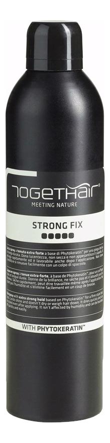 Лак-спрей для волос сильной фиксации Strong Fix 400мл