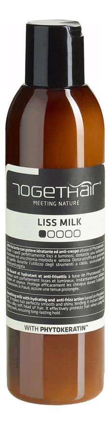 Моделирующее молочко для выпрямления волос Liss Milk 200мл